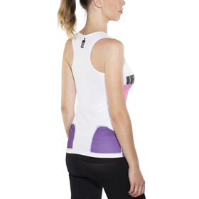 Compressport TR3 Triathlon Tank Top Women Ironman Edition Stripes Purple